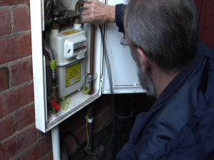 Derek doing gas safety