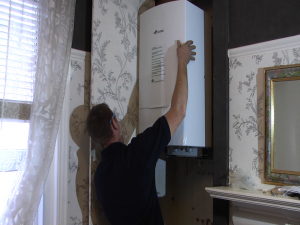 Greg fitting boiler