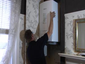 Greg fitting boiler